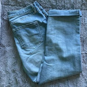 Nine West High Rise Vintage Crop Jeans